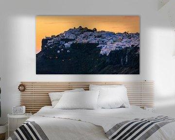 Zonsondergang, Imerovigli, Santorini