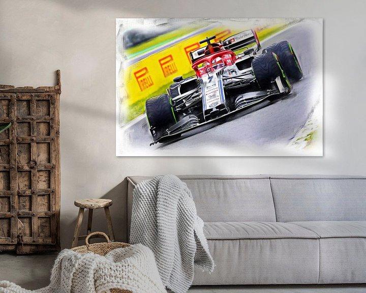 Beispiel: Räikkönen #7 von DeVerviers