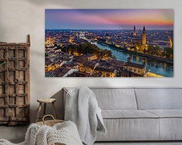 Blick über Verona von Adelheid Smitt