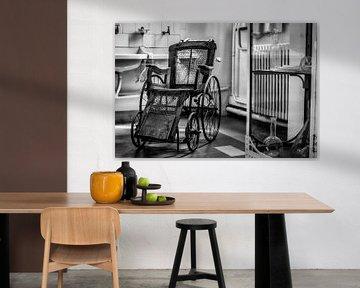 The vintage Wheelchair van Faucon Alexis