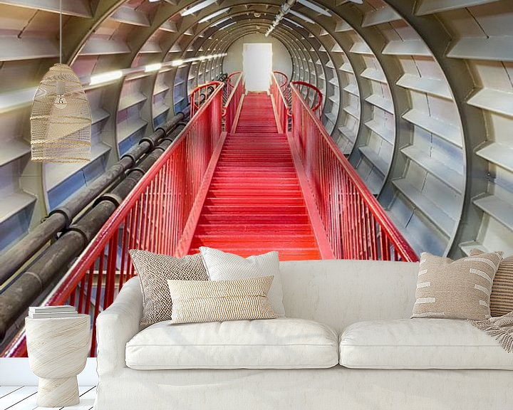 Sfeerimpressie behang: Tunnel naar het licht van Mark Bolijn