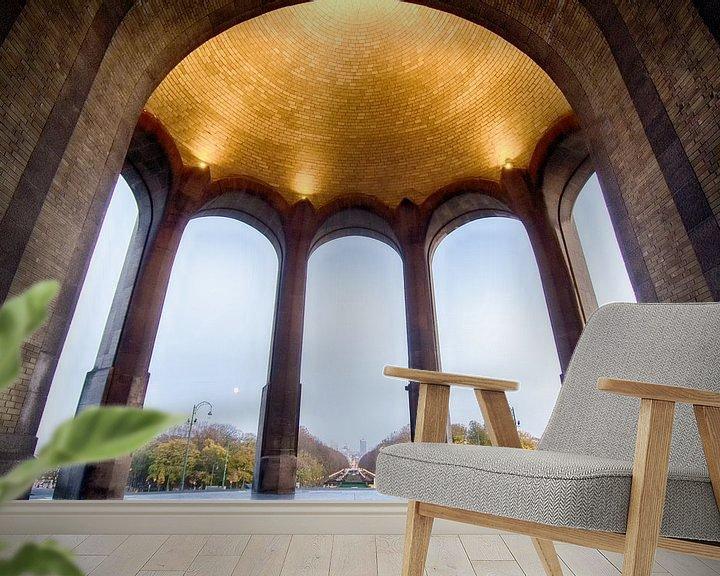 Sfeerimpressie behang: Basiliek van Mark Bolijn