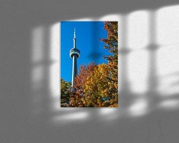 Indian Summer in Toronto van Peter Leenen