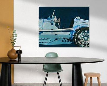 Bugatti Phoenix Concept Roadster Schilderij