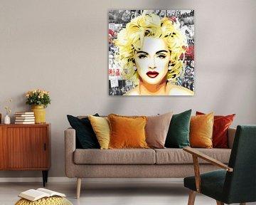 Madonna - 'Eighties' van Jole Art (Annejole Jacobs - de Jongh)