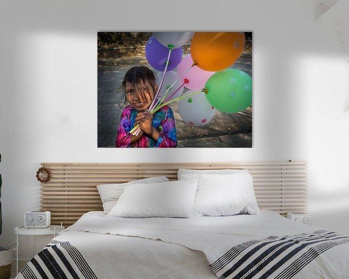 Sfeerimpressie: Hartbrekende ballonnen verkoopster van Ton Buijs