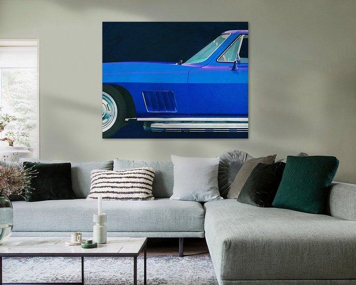 Sfeerimpressie: Chevrolette Corvette Corvette Stingray 427 1967 van Jan Keteleer