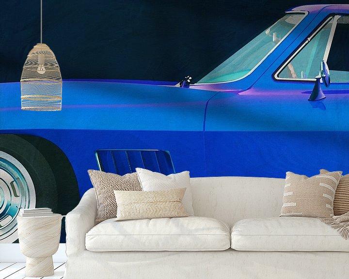 Sfeerimpressie behang: Chevrolette Corvette Corvette Stingray 427 1967 van Jan Keteleer