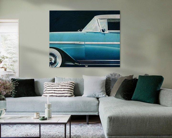 Sfeerimpressie: Chevrolette Impala Special Sport Edition 1958 van Chevrolette van Jan Keteleer
