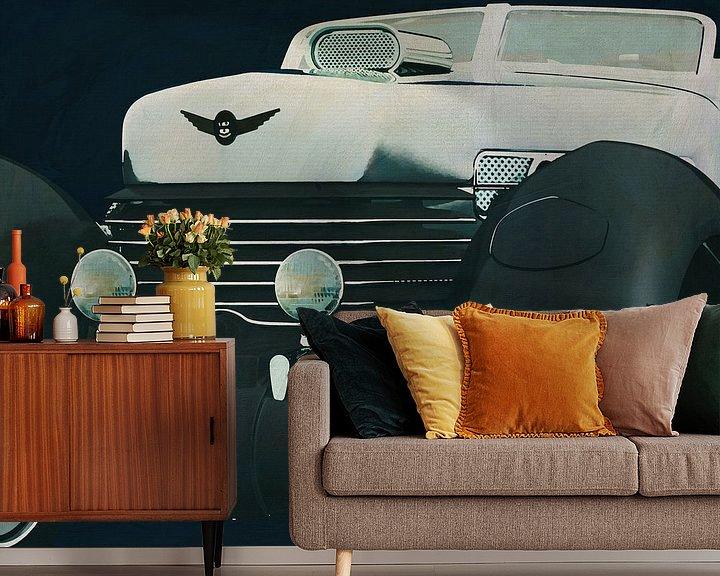 Sfeerimpressie behang: Cord 812 Concept Roadster van Jan Keteleer