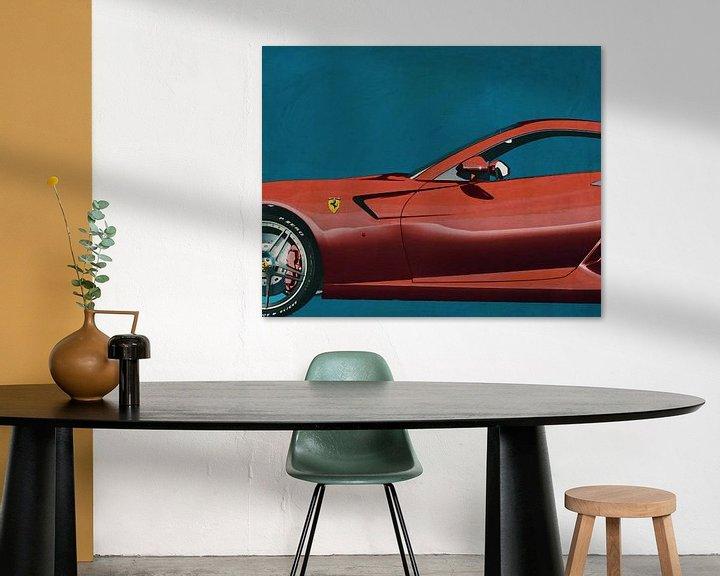 Sfeerimpressie: Ferrari 599 GTB Fiorano 2006 van Jan Keteleer