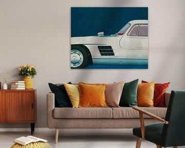 Mercedes 300SL Meeuwenvleugels 1964