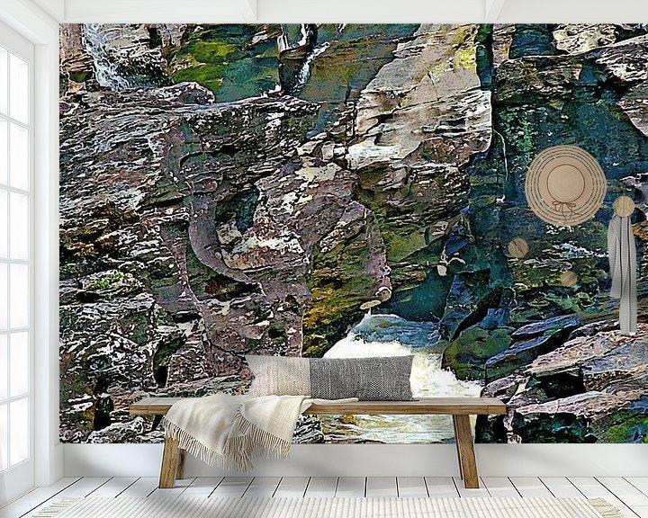 Beispiel fototapete: River Orchy von Leopold Brix