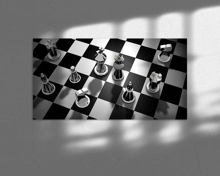 Beispiel: Schachbrett von Atelier Liesjes