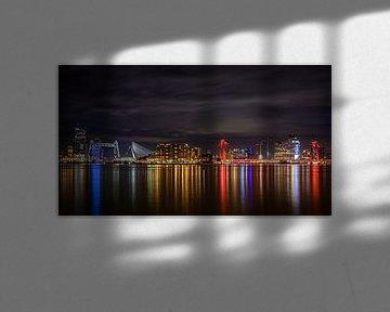 Rotterdam skyline van Alvin Aarnoutse