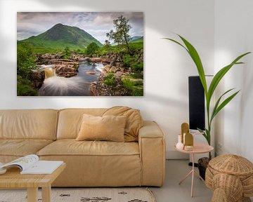Waterval Glen Etive van Antwan Janssen