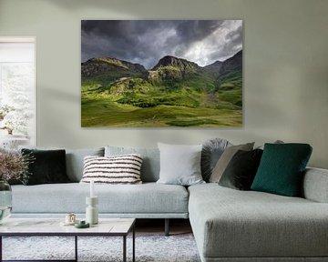 Three Sisters in Glencoe van Antwan Janssen