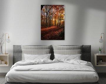 bos in koperkleur van Erik Reijnders