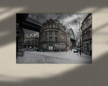 Straat in Newcastle van Stephan Scheffer