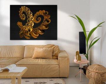 Schorpioen schelp gemaakt van puur goud van Max Steinwald