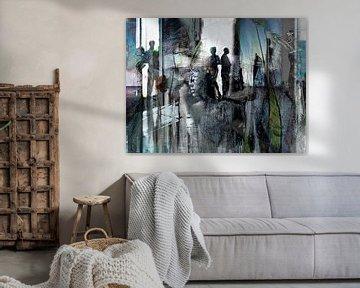 The chaotic century, part 1 von Kirsti's Kunst