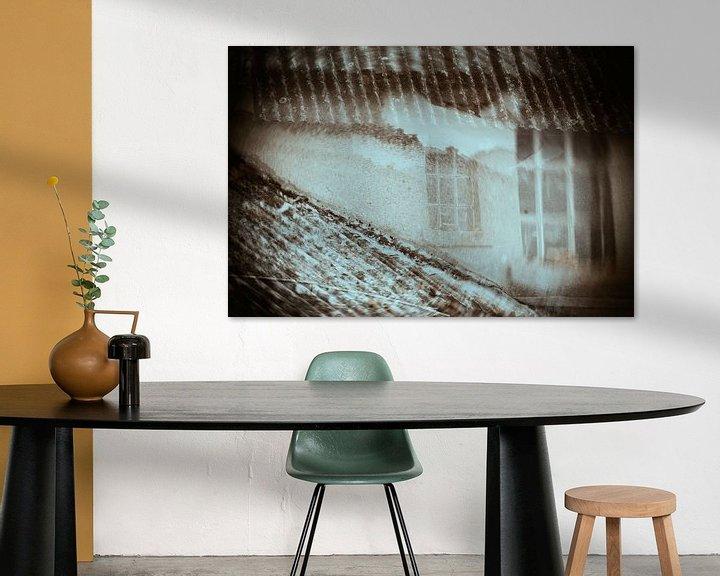 Sfeerimpressie: Spookraam in double exposure van Cristel Brouwer