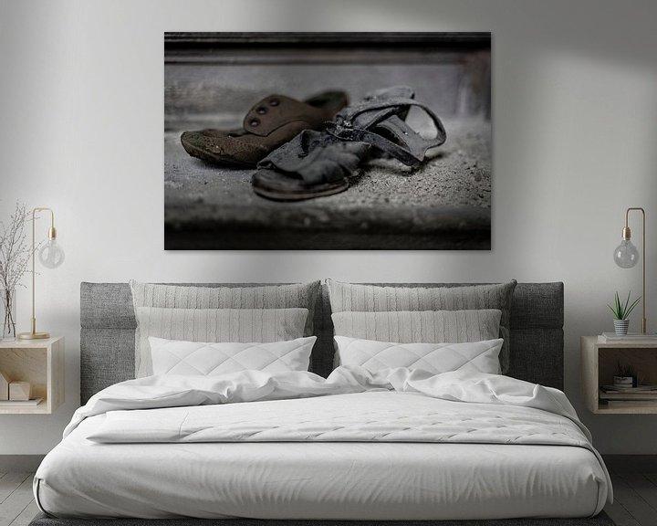 Beispiel: Einsame Schuhe von Cristel Brouwer