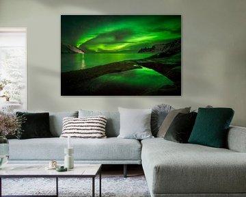 Aurora über Tugeneset von Wojciech Kruczynski