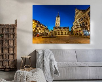 Gent, Belgien, der Glockenturm von Maarten Hoek