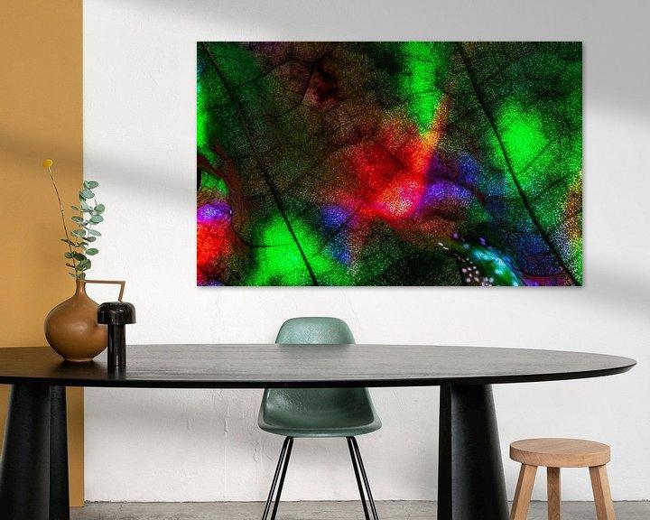 Sfeerimpressie: kleuren blad van emiel schalck