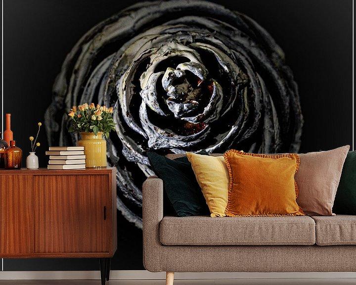 Sfeerimpressie behang: denappel van emiel schalck