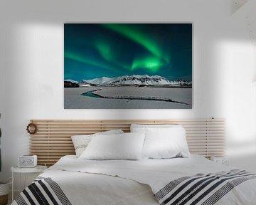 Aurora in IJsland van Ramon Stijnen