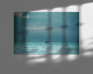 Sailing on seven Seas von Die Farbenfluesterin