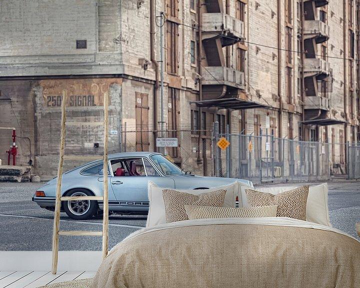 Beispiel fototapete: Porsche 911 Heißdraht von Maurice van den Tillaard