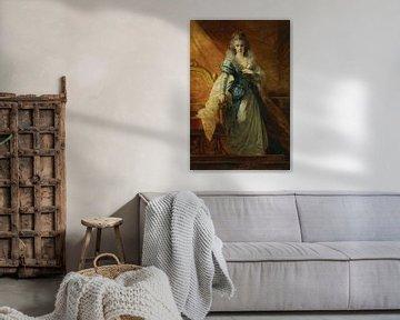 Porträt der Kaiserin Maria Ludovica (1745-1792), Heinrich Füger