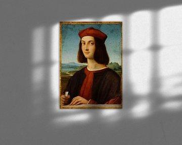 Porträt des jungen Kardinals Ippolito I d'Este, Raffael