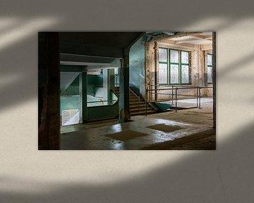verfallenes Treppenhaus von Dick Carlier