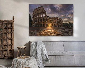 Kolosseum Rom von Salke Hartung