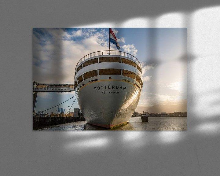 Sfeerimpressie: ss Rotterdam van Ingrid Aanen