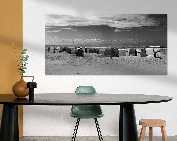 Sfeerimpressie: Strandstoelen van Johan Zwarthoed
