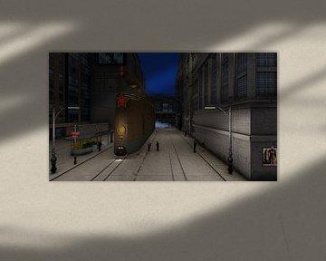 steampunk train humans 05