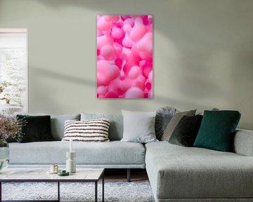 Roze Blob van Jörg Hausmann