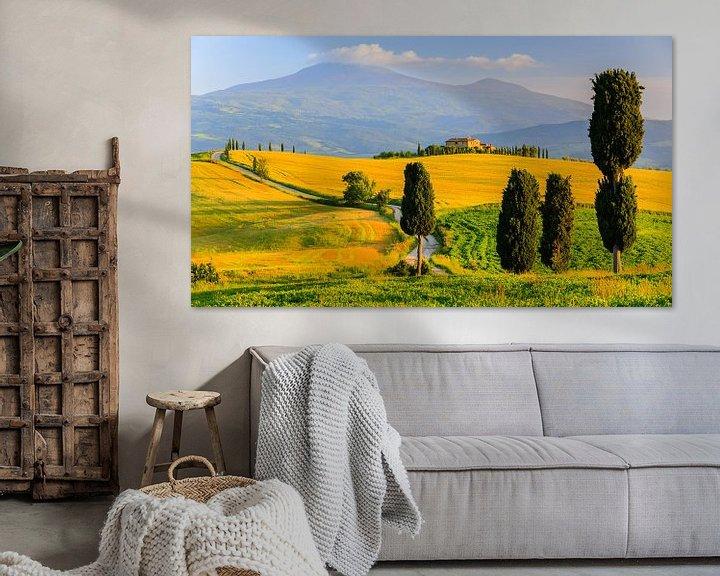 Beispiel: Val d'Orcia, Toskana, Italien von Henk Meijer Photography