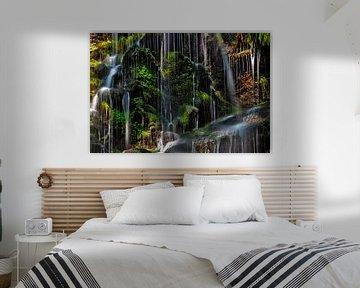 Bleke waterval van Jürgen Wiesler