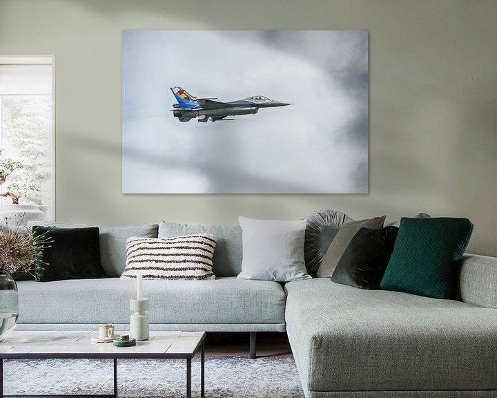 Sfeerimpressie: Belgische F16 van Mark Bolijn