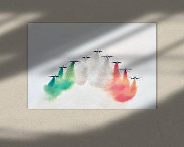 Demonstratieteam van de Italiaanse luchtmacht