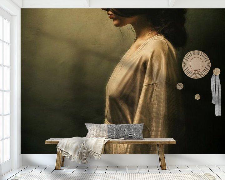 Beispiel fototapete: Alone von Marja van den Hurk