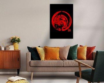 Aikido in rot von philippe imbert