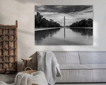 Washington Monument im reflektierenden Pool von Martin Albers Photography