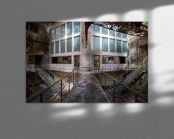 verlassene Fabrikhalle von Kristof Ven